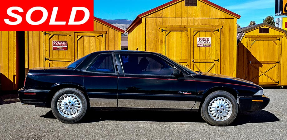 SOLD! Used 1996 Buick Regal Stick Shift Motors Cody Wyoming