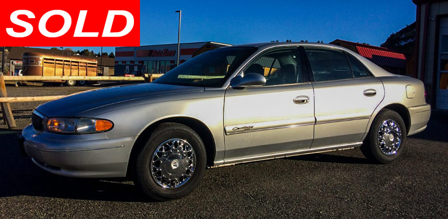 For Sale Used 2002 Buick Century Stick Shift Motors Cody, Wyoming