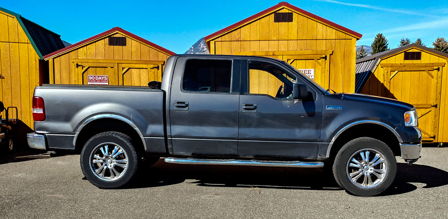 For Sale Used 2005 Ford F150 4x4 Stick Shift Motors Cody, Wyoming