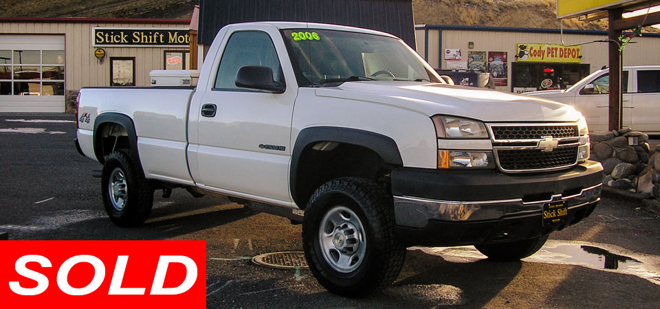 For Sale Used 2006 Chevrolet K2500 HD 4 X 4 Pickup