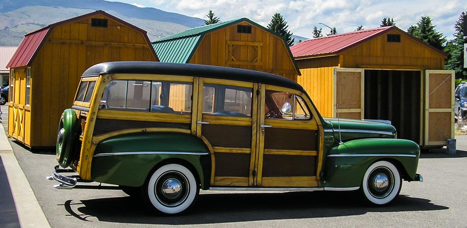 1948 Ford Woody Wagon Stick Shift Motors Cody Wyoming