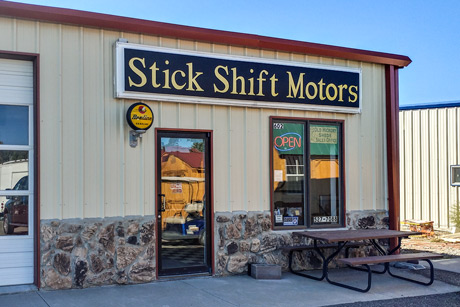 Stick Shift Motors Building 620 Yellowstone Ave Cody, WY